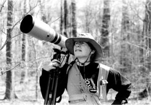 Ornithologist Laura Gooch. Photo: David Kazdan