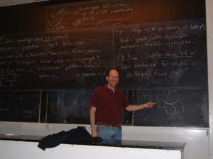 Steven Strogatz lecturing